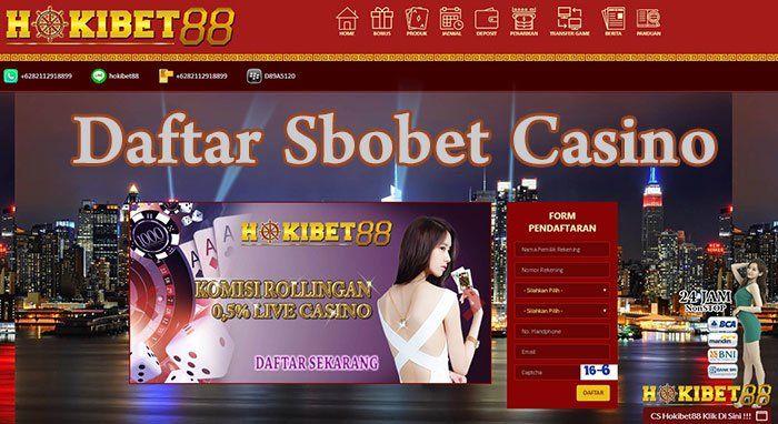 Daftar Sbobet Casino - CARA DAFTAR SBOBET MUDAH DAN GRATIS VERSI ON THE SPOT